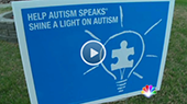 VIDEO: Anonymous Neighbor Objects To Blue Porch Lights For Autism Awareness