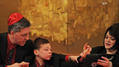 Autistic Boy Gains A Voice At His Bar Mitzvah Thanks To His iPad
