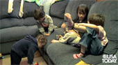Family With Four Autistic Kids Says It's Their 'Purpose In Life'