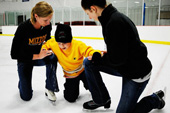 Ice skating helps autistic kids gain confidence