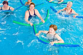 Instructions For Aqua Exercises With Pool Noodles
