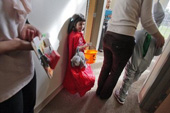 Students with Autism Learn the Trick-or-Treat Routine in  Time for Halloween