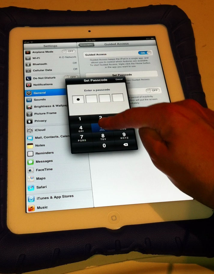 "VIDEO TUTORIAL: How To Make Your iPad Autism-Compatible With ""Guided Access"" - Photo"
